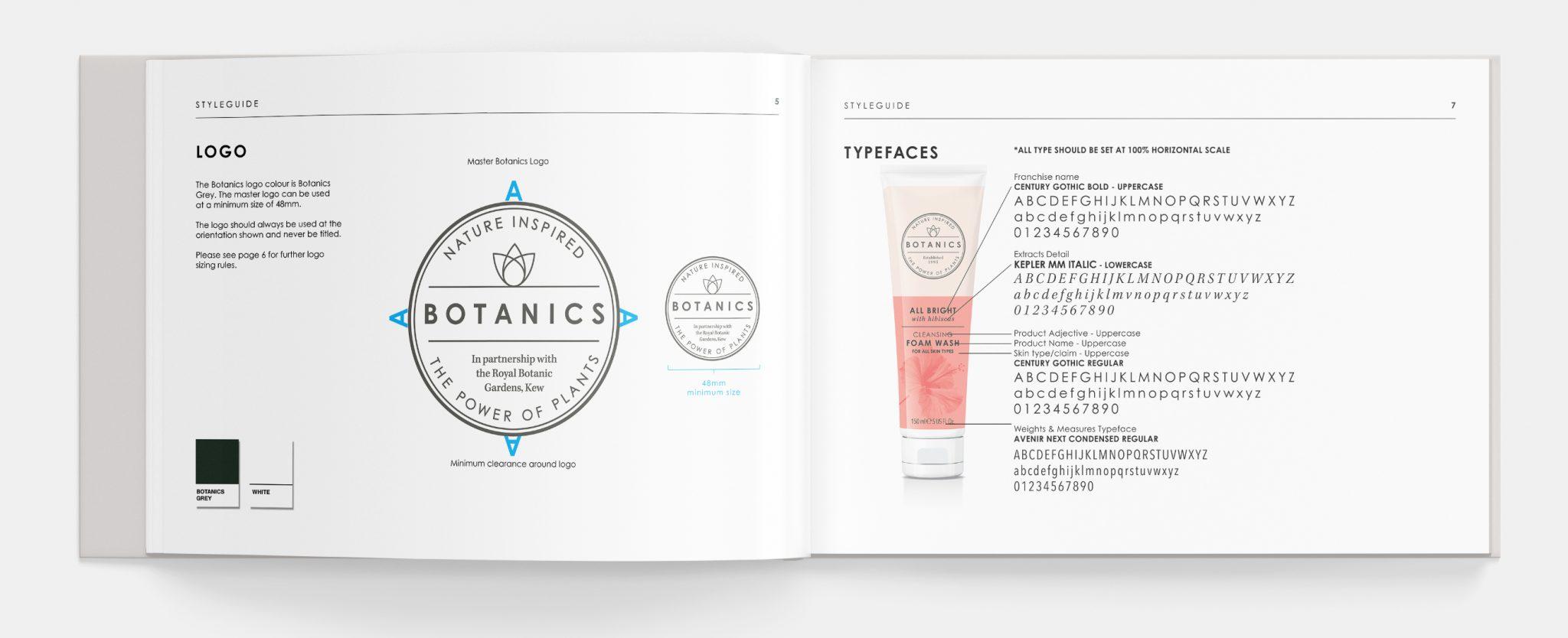Botanics style guide 01