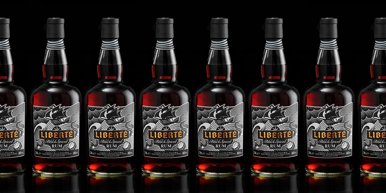 Liberté Black Spiced Rum